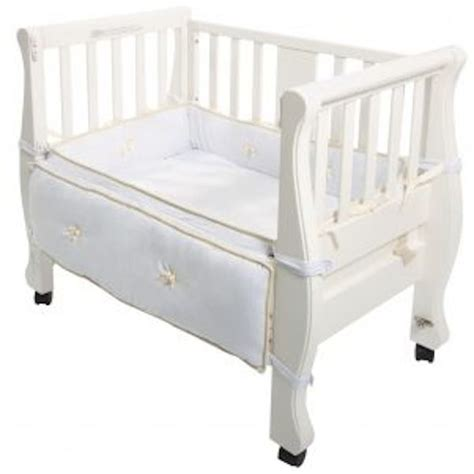 co sleeper sleigh natural picture 9