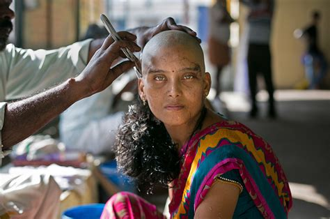 women shave head in the temple picture 1