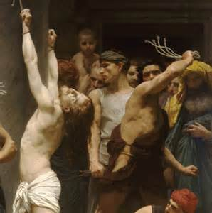 crucified women scourging picture 6