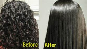 permanently straighten nappy hair at home with picture 2