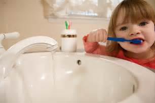 brushing teeth with bad water picture 2