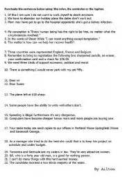 colon grammar worksheets picture 19
