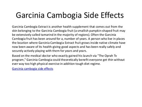 gambia cambogia side effects picture 7