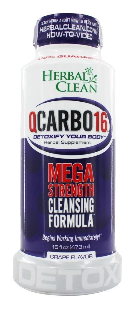 does herbal clean qcarbo16 with eliminex mega strength picture 4