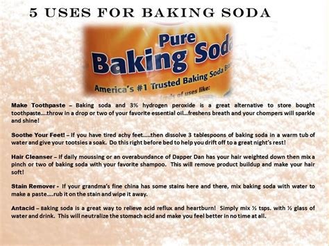 what are the benefits of baking soda on picture 7