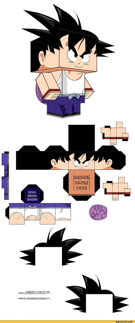 anime paper toys picture 5