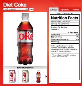 diet coke ingredients picture 11