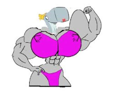 sandy cheeks muscle growth whelk attack picture 9