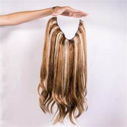 buy human hair extensions clip in picture 1