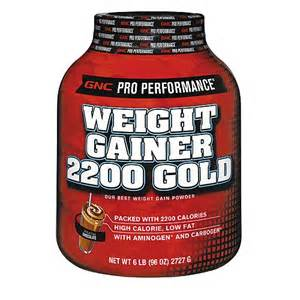 gnc pro performance weight gainer 2200 gold - picture 2
