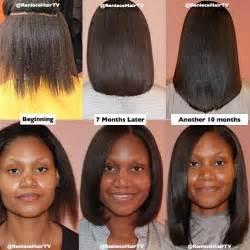 can you color relaxed ethnic hair picture 5