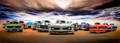 muscle car art picture 6