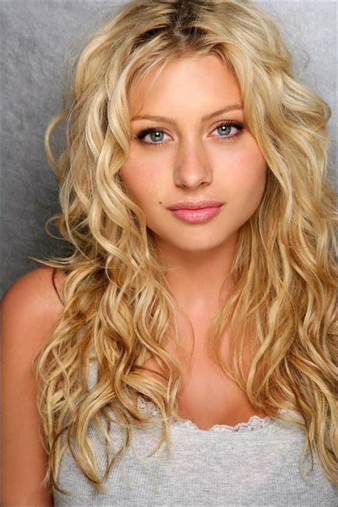 curly hair blonde picture 1