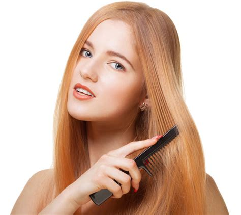 combing hair picture 10