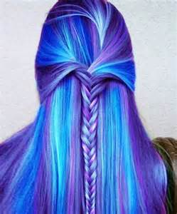 milky way hair blue picture 3