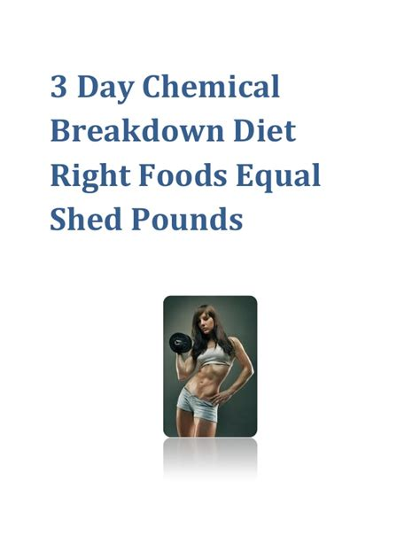 chemical breakdown diet picture 7