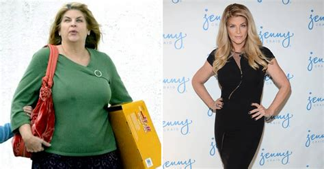 kristy alley weight loss picture 2
