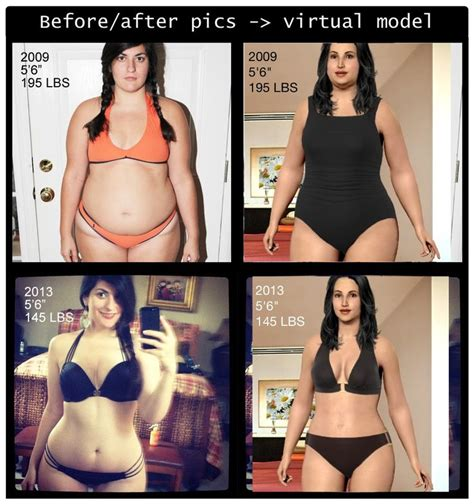 virtual body weight loss picture 1