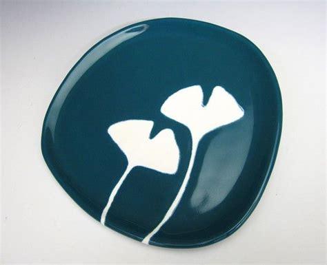 ginkgo ceramic plate picture 1