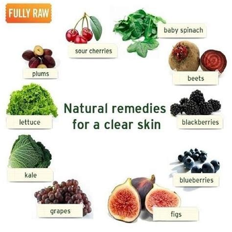 foods that promote clear skin picture 1