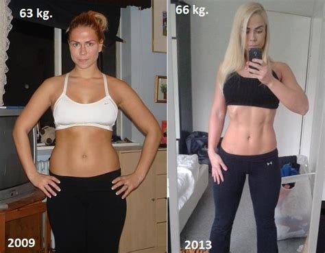 muscle vs fat weight gain picture 6