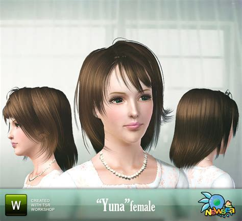 yuna free hair picture 5