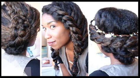 hairstyles for natural african hair picture 3