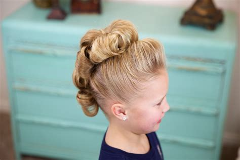 dance hair styles picture 15