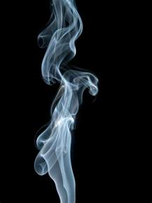 photographs of writings in smoke picture 13