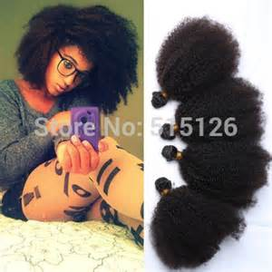 afro humane hair weave picture 14
