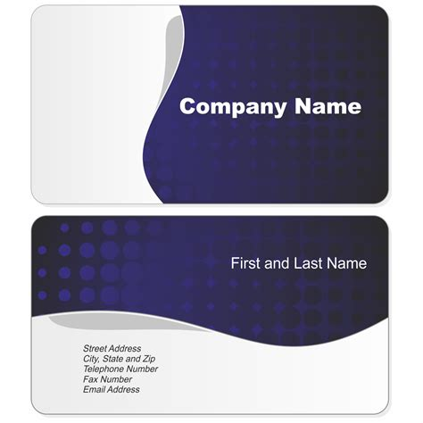free online business card templates and photos picture 12