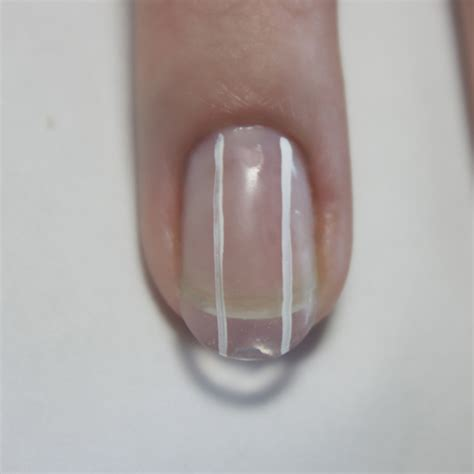 white line in nail picture 6