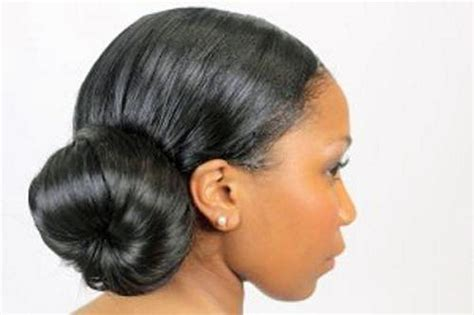 african american hair buns picture 1