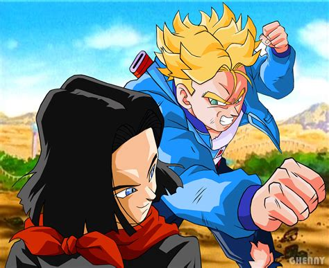dragon ball z android 17 x reader quotev picture 10