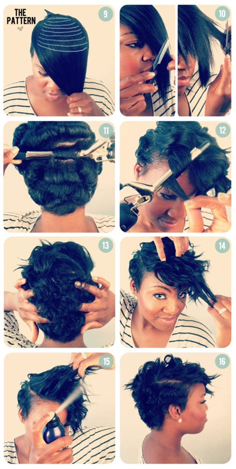 can i put weave on my short hair picture 1