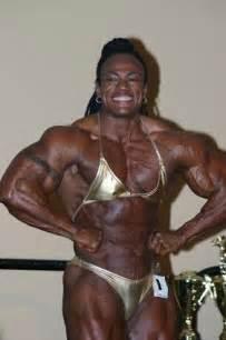 female black bodybuilders wrestling picture 5