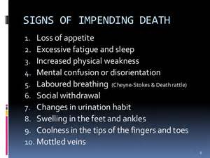 signs of death is near with prostate picture 1