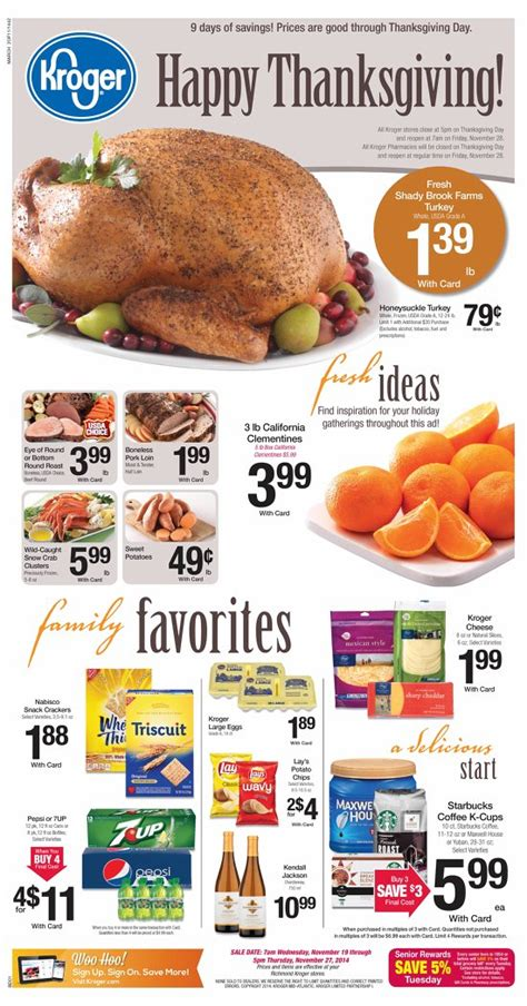 kroger 4 day sale ad picture 11