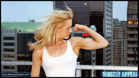 female muscle model clips picture 3