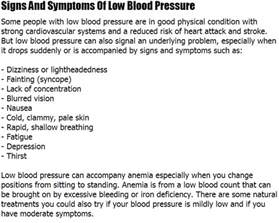 Symptoms of high or low blood pressure picture 13
