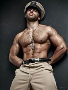 beautiful muscle hairy chest male hunks picture 9