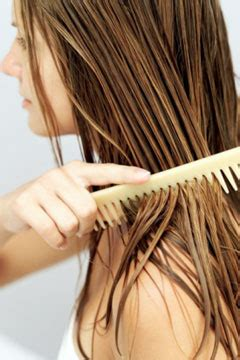 combing hair picture 18