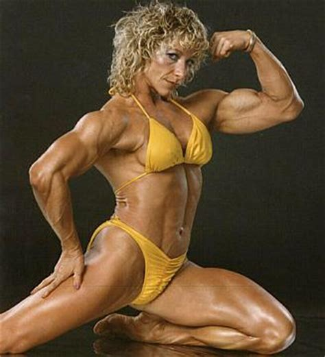 female muscle art picture 6