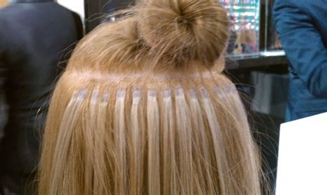 keratin applied hair extensions picture 10