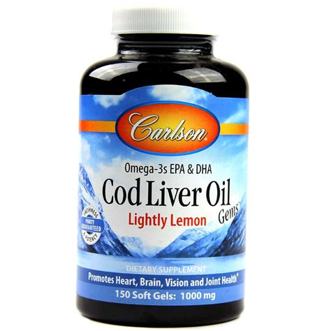 carlson cod liver oil - lemon flavored picture 3