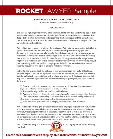 advance health care directives california picture 11