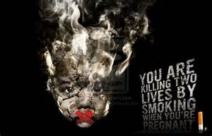 pregnant smoking picture 9