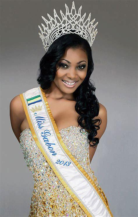 miss gabon dark skin picture 3