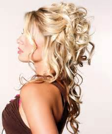 half up half down hair do's for prom picture 10