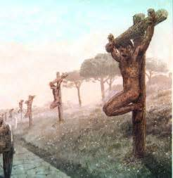 roman female crucifixion picture 1